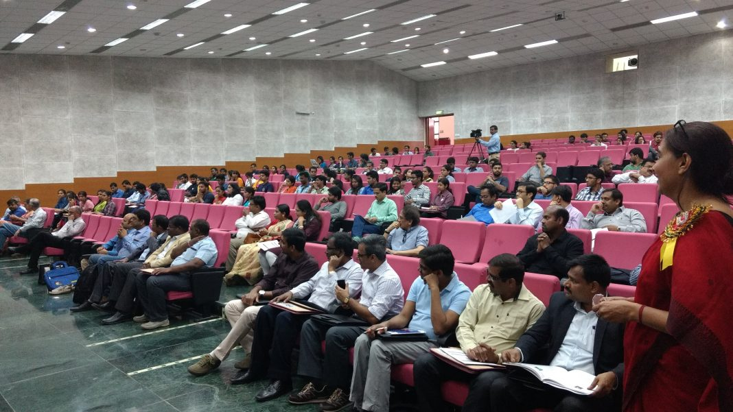 The audience at the event.