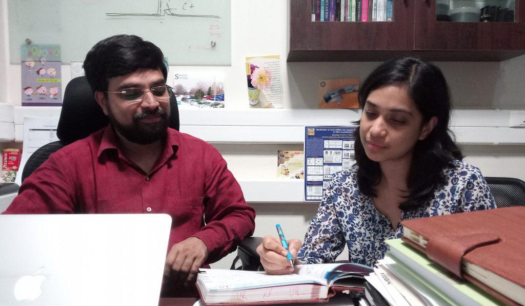 Members of the research team : Sathees Raghvan and Supriya Vartak.