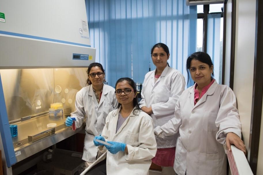 Research team at IIT Delhi.