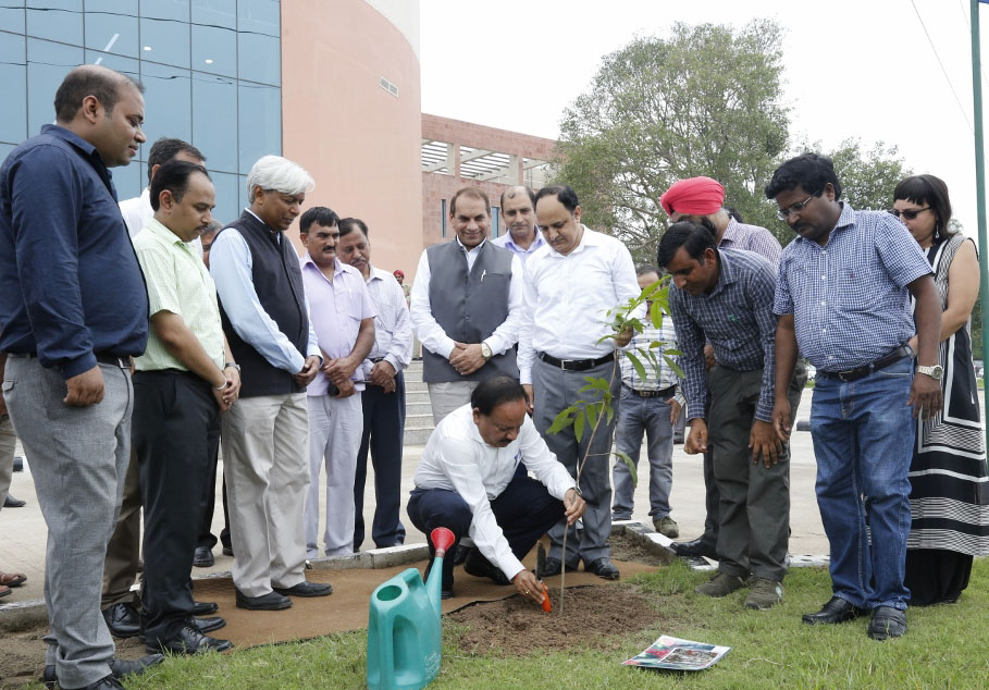 Inauguration of Agri Food Biotech Park 4
