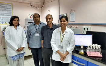 Members of the research team.